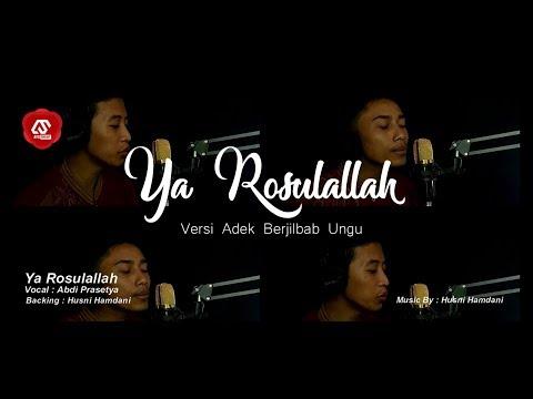 Ya Rosulallah Versi Adek Berjilbab Ungu Banjari Cover