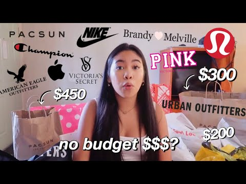 NO BUDGET Summer Try on Haul!