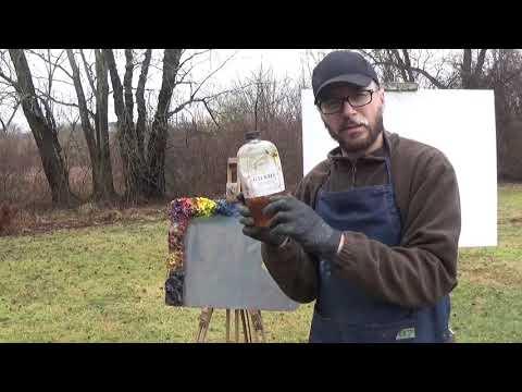 Kyle Buckland Plein Air Oil Painting Demonstration Beginner Lesson #1 Art