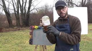 Kyle Buckland Plein Air Oil Painting Demonstration Beginner Lesson #1 Art