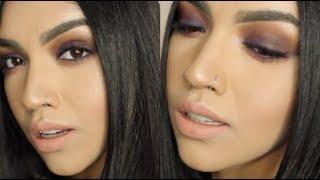 Baixar Royal Purple Smokey Eye Tutorial// MariaaGloriaa