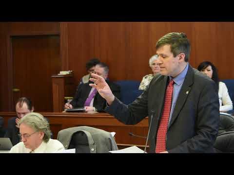04-12-18 Sen. Wielechowski - Budget: Oil Tax Credits