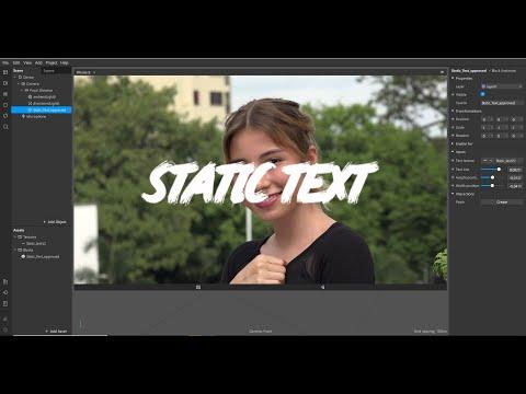 Spark ar, Как добавить статический текст, чтобы маска прошла модерацию? Static text