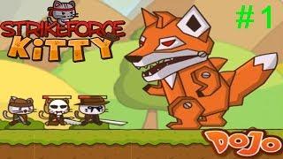 Ударный Отряд Котят #1 FOXZILLA Повержен! Игровой мультик Детское видео Let's play