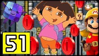 Rätseln mit Dora the Explorer! #51 ⭐️ SUPER MARIO MAKER ONLINE Deutsch