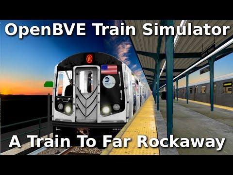 OpenBVE ►A Train to Far Rockaway!◀ (R160!)