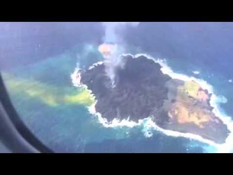 西之島 2014年1月20日 nishinoshima