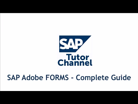 SAP Adobe FORMS - Complete Guide