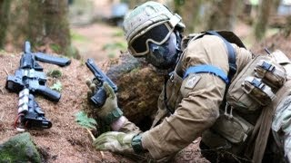 Airsoft War Games Action at Section8 Scotland thumbnail