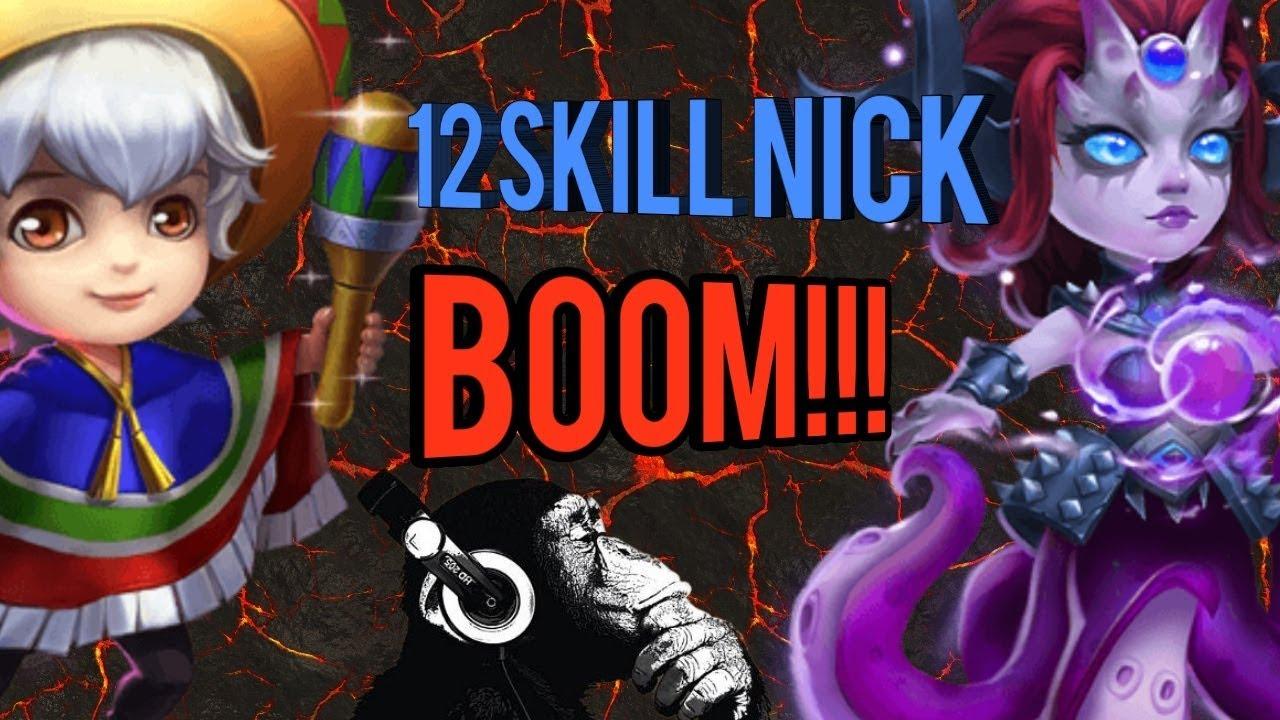 12 Skill Nick | Brute Force | Unholy Pact | Cirrina Buff