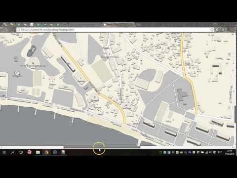 Как распечатать карту Яндекс