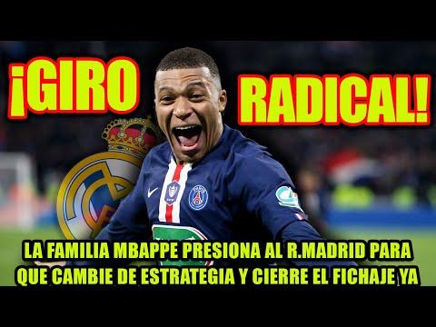 La familia Mbappe presiona al R.Madrid para que cambie de estrategia y cierre el fichaje YA