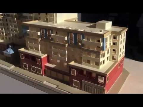 3d printed architectural model from 2d drawings youtube Printing architectural drawings