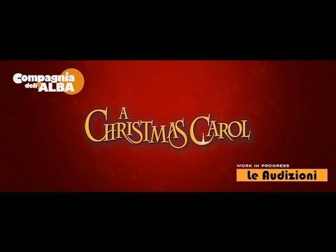 Compagnia dell'Alba - A Christmas Carol Le audizioni Giugno 2018