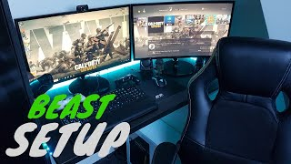 The Ultimate 16 Year Old SETUP TOUR 2018 - My YouTube/ Gaming Setup!