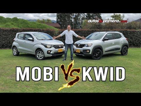 Renault KWID vs Fiat MOBI ¿Cuál ganará?| Comparativa