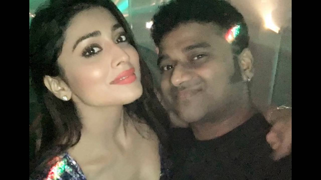 Image result for devi sri prasad and shriya saran