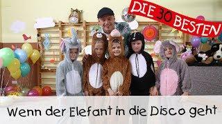 Wenn der Elefant in die Disco geht - Singen, Tanzen und Bewegen || Kinderlieder