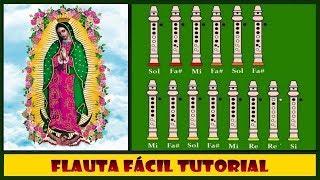 La Guadalupana en Flauta Dulce