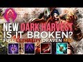 New DARK HARVEST ON DRAVEN | Full Lethality Dark Harvest Draven Mid