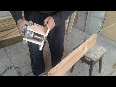 Ручной фрезер из болгарки за пять минут.