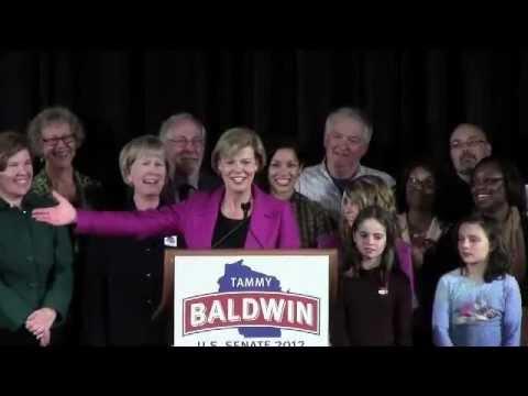 Tammy Baldwin: Election Night, Nov. 6, 2012 (FULL)