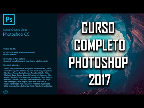 CURSO DE PHOTOSHOP CC 2017 - COMPLETO