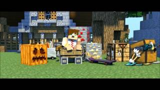 Minecraft Evi Song Parodi