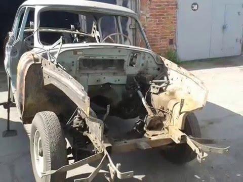 Ремонт ГАЗ 21 Волга 1970 г.в. часть 2