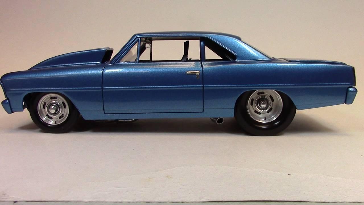Billy Vega's Scale Model Garage : Pro-Street 1966 Nova ...