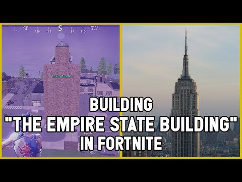 The Violent Architects Episode 1: Empire State Building in Fortnite