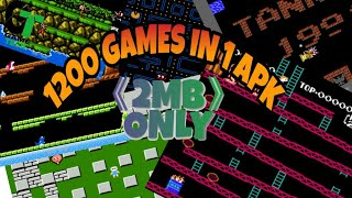 Nes 1200 games in 1 apk download video