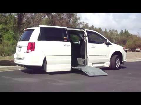 Dodge Grand Caravan Handicap Wheelchair Ramp Van For Sale Orange County