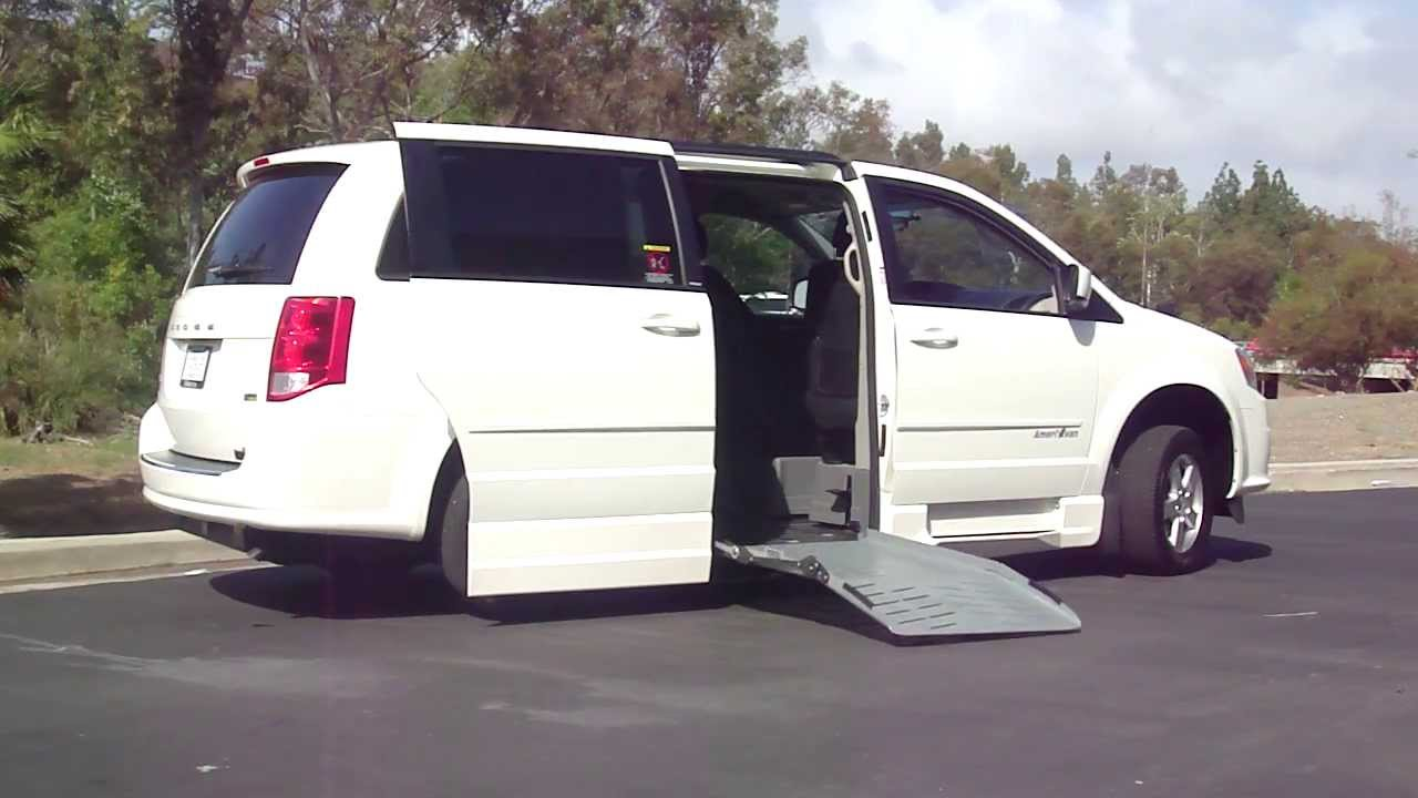 dodge grand caravan handicap wheelchair ramp van for sale orange