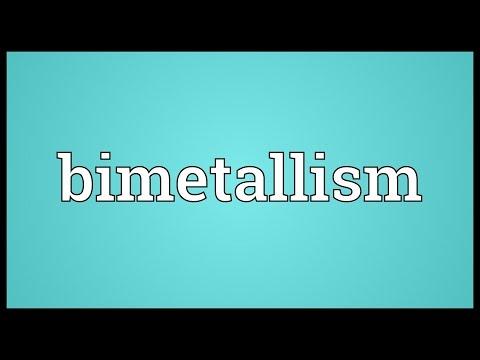 Bimetallism Meaning
