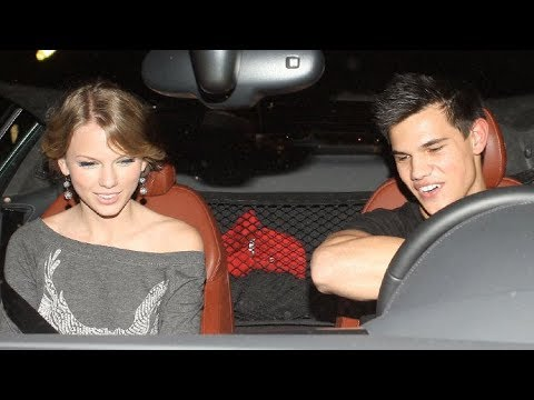 Taylor Swift And Taylor Lautner Share Romantic Dinner Date!! [2009]
