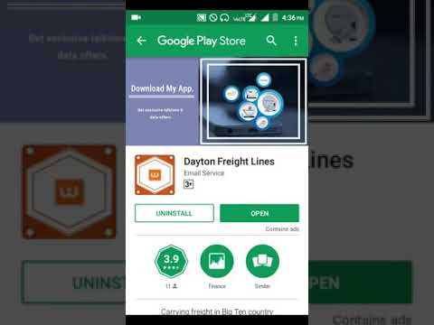 New Dayton Freight Lines app unlimited free cash earn Hindi video