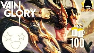 Vainglory's 100th skin: 'Champion's Fate' Blackfeather Legendary Skin #DARKYE