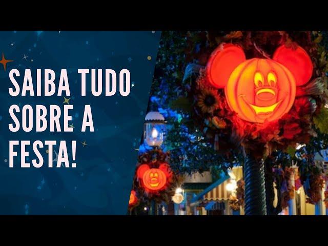 COMO É O HALLOWEEN NA DISNEY? - Mickey's Not So Scary Halloween Party 2019 🧙🏻♀🧛🏻♂