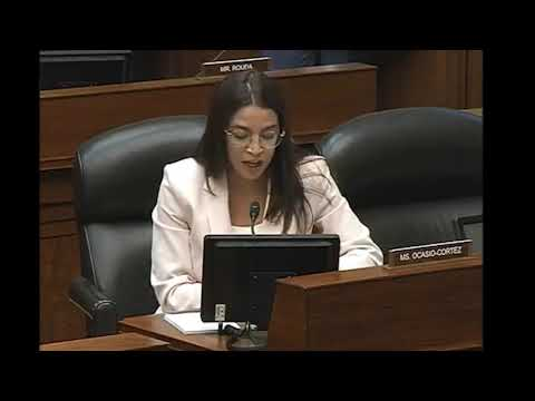 Rep. Ocasio-Cortez examines whether TransDigm is appropriately earning excess profits.