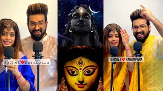 Sachet Parampara Aigiri Nandini x Shiv Tandav Stotram | New Durga Shiv Status | New Song ViralVideo