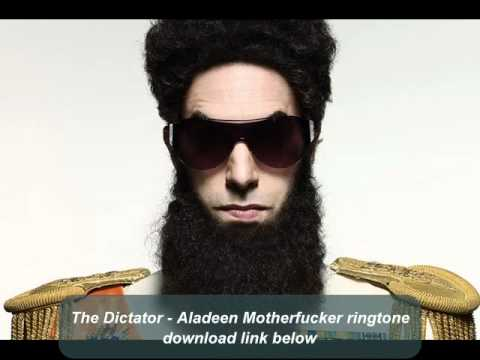 Aladeen Motherfucker ringtone + download link - The Dictator
