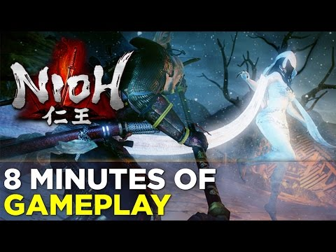 Fighting Yōkai: 8 Minutes Of NIOH Gameplay from Tokyo Game Show!
