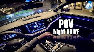 2019 Touareg R-Line - POV Night DRIVE✨