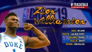 Draft NBA 2019 : Zion Williamson, le profil