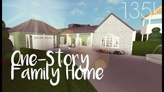 ROBLOX | Bloxburg: One-Story Family Home 135k