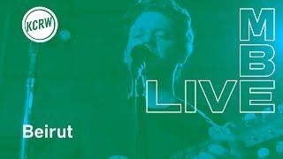 """Beirut performing """"Landslide"""" live on KCRW"""