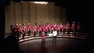 City Middle School 8th Grade Choir- Pie Jesu; Mary Lynn Lightfoot