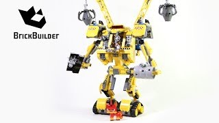 Lego Movie 70814 Emmet's Construct-o-Mech - Lego Speed build thumbnail