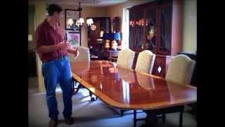 Council Craftsman Dining Table Piece of the Week 08/03/12